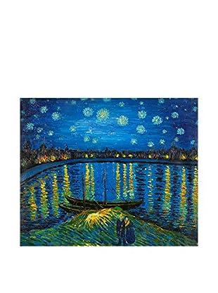 Arte dal Mondo  Wandbild Van Gogh Notte Stellata Sulla Rhona