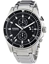 Fossil Wakefield Analog Black Dial Men's Watch - CH2935