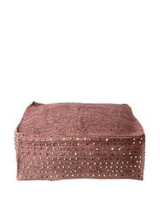 """Mar Y Sol Lola 26"""" x 26"""" Floor Cushion (Currant)"""