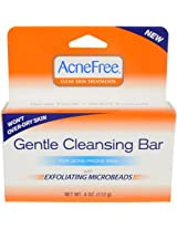 AcneFree Gentle Cleansing Bar, 4 Ounce