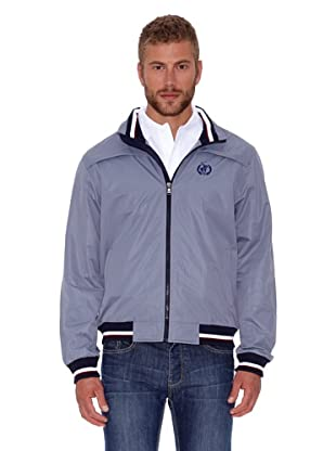 Polo Club Cazadora Micro Zipper (Gris)