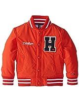 Tommy Hilfiger Little Boys' Baseball Jacket