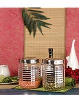 Princeware Senorita Pet Jar Set of 2 Containers - 1800 ml each