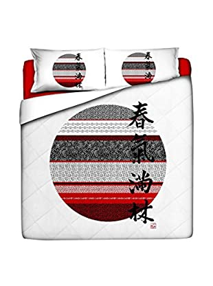 JAPAN MANIA by MANIFATTURE COTONIERE Steppdecke Hinomaru