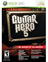 Guitar Hero 5 (Xbox 360) (Game only)