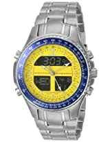 Sartego Mens SPW37 World Timer Quartz Chronograph Watch