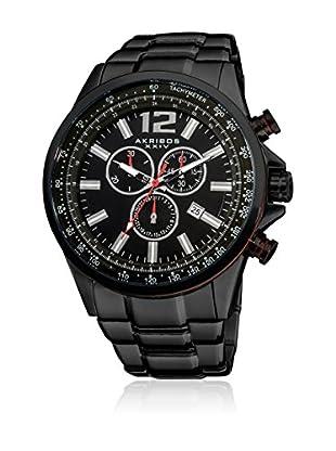 Akribos XXIV Reloj con movimiento cuarzo suizo Man AK619BK 49 mm