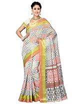 Saree Swarg Cotton Blend Printed Saree