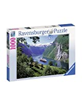 Ravensburger Norwegian Fjord Jigsaw Puzzle (1000 Pieces)
