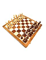 "craft store Wooden Chess Board 16""x16"" Ethnic Hand Made Chess Set King Size 4"""
