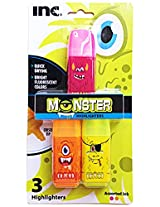 Quick Drying Monster Highlighters (3 Ct)