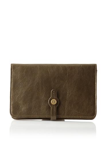 Latico Women's Josie Wallet (Metallic Olive)
