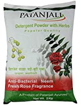 Patanjali Popular Detergent Powder - 2 kg