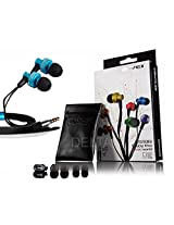 Awei ES900i In-Ear Earphone for Iphone IPOD Samsung HTC Xiaomi,Clear Bass with Mic Headset Headphone Free shipping (Blue)