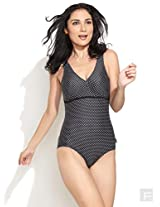 Polka-Dotted Panache Swimsuit
