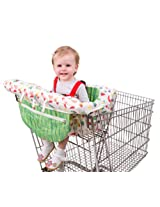 Eric Carle Shopping Cart Cover, Baby Cart Cover, Polyester, Adjustible Safety Straps, Multicolored
