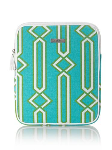 Julie Brown iPad Case (Green Jenjule)