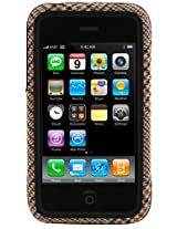 Speck Fitted Case for iPhone 3G/3GS - 1 Pack  - Tan Houndstooth Plaid