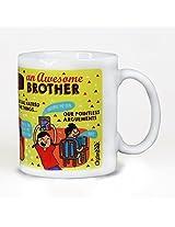 Chumbak Adorable Brother Coffee Mug, 300ml