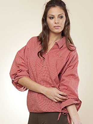 Ikks Camisa (rojo / blanco)