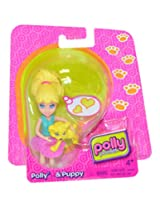 Polly Pocket Polly Doll And Puppy Doll