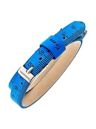 Ilmezzometro Pulsera Fluo (Azul / Plata)