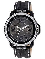 Fastrack Analog Men's Grey/Black Dial Watch - 38017PL01J