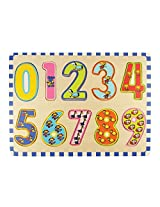 Bigjigs Toys 123 Puzzle - BJ537