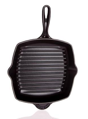 Le Creuset 20121260000460 - Sartén plancha cuadrada (26 x 26 cm), color negro