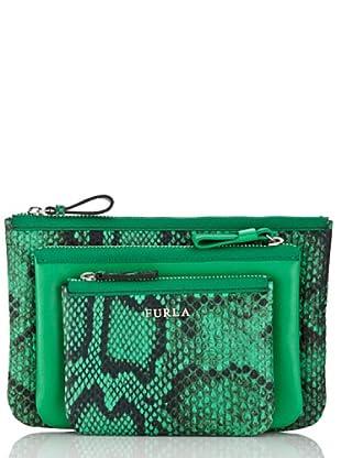 Furla Taschen-Set Litchi (Grün)