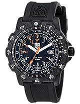 Luminox Men's LM8822.MI Recon Point Analog Display Quartz Black Watch