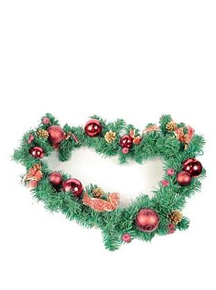 Guirnalda Decorada Navidad Rojo