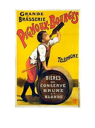 Pignoux Bourges Giclée Canvas Print
