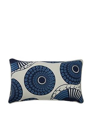 Thomas Paul Yinka Feather Pillow, Azure