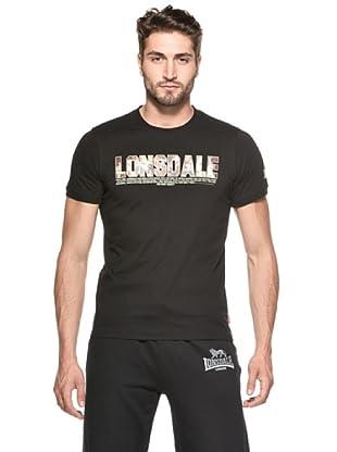Lonsdale Camiseta Icons (Negro)