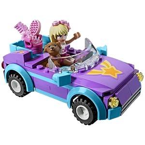 女の子用レゴのオープンカー
