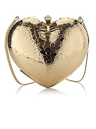 Love Moschino Pochette Herz gold