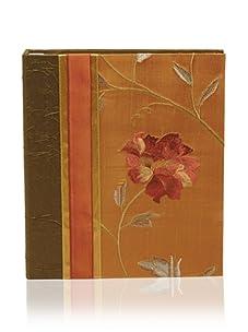 Molly West Crimson Bloom-Photo Album, Green/Orange