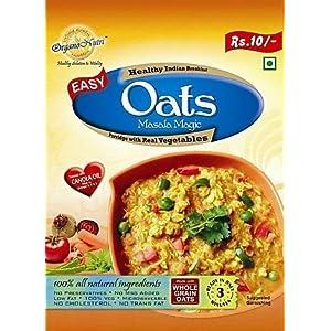 OrganoNutri Porridge - Oats Masala Magic - 20 Pouches