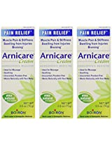 Boiron Arnica Cream -- 2.5 oz (Pack of 3)