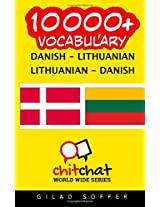 10000+ Danish-lithuanian Lithuanian-danish Vocabulary