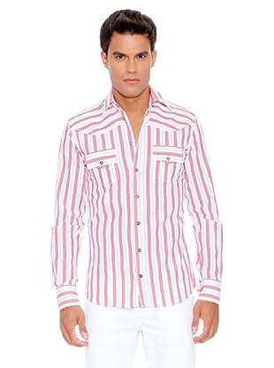D&G Camisa Apollon (Blanco / Vino)
