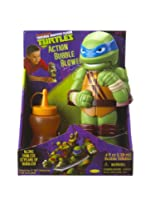 Little Kids Teenage Mutant Ninja Turtles Action Bubble Blower, Leonardo