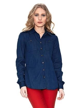 Springfield Camisa Básica (Azul Oscuro)