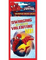 Paper Magic Valentine Treat Bags Spiderman (30 Count)