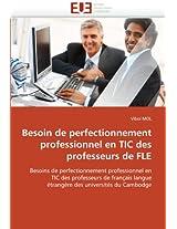 Besoin de Perfectionnement Professionnel En Tic Des Professeurs de Fle (Omn.Univ.Europ.)