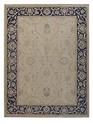 Kalaty One-of-a-Kind Pak Rug, Ivory/Dark Gray, 9' x 11' 11