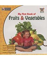 My First Book Of Fruits & Vegetables