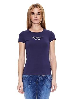 Pepe Jeans London Camiseta Virginia (Azul Oscuro)