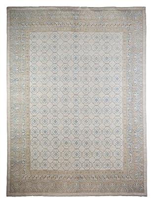 Darya Rugs Khotan Oriental Rug, Ivory, 8' 5